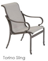 Torino Sling Dining Chair